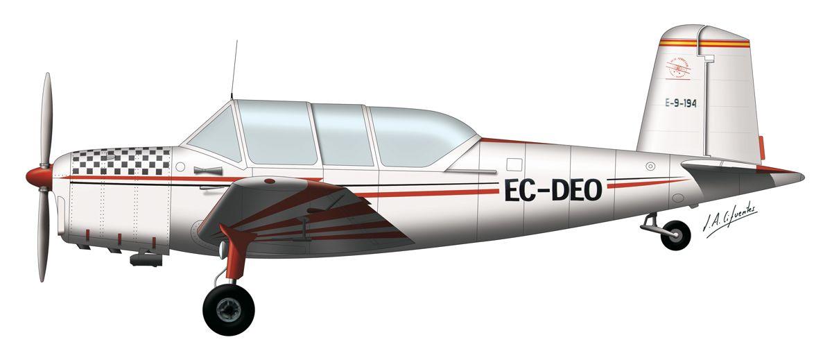 AISA I-115 – Aeroclub Menorca