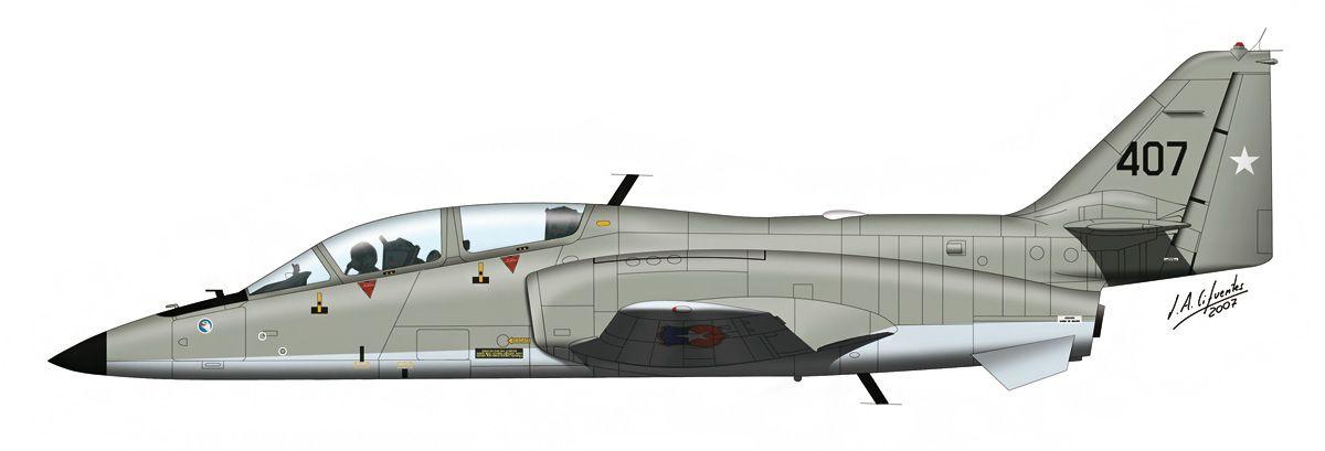 CASA / Enaer T-36 «Halcón»