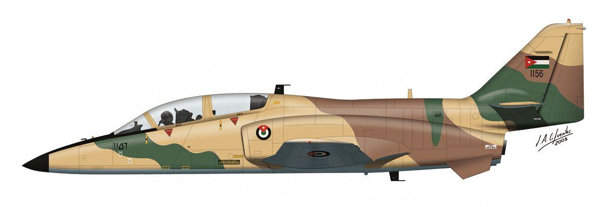 C-101 «Aviojet» – Fuerza Aérea de Jordania