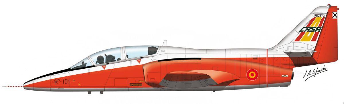 C-101 «Aviojet» – Primer prototipo