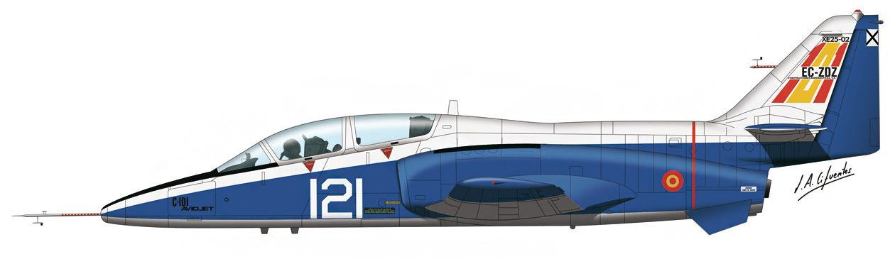 C-101 «Aviojet» – Segundo prototipo