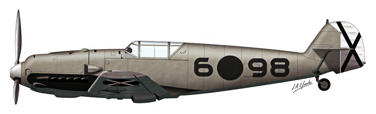 Bf-109 E1 – Legión Cóndor