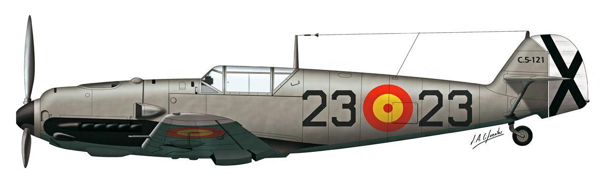 Bf-109 E3 – Ejército del Aire