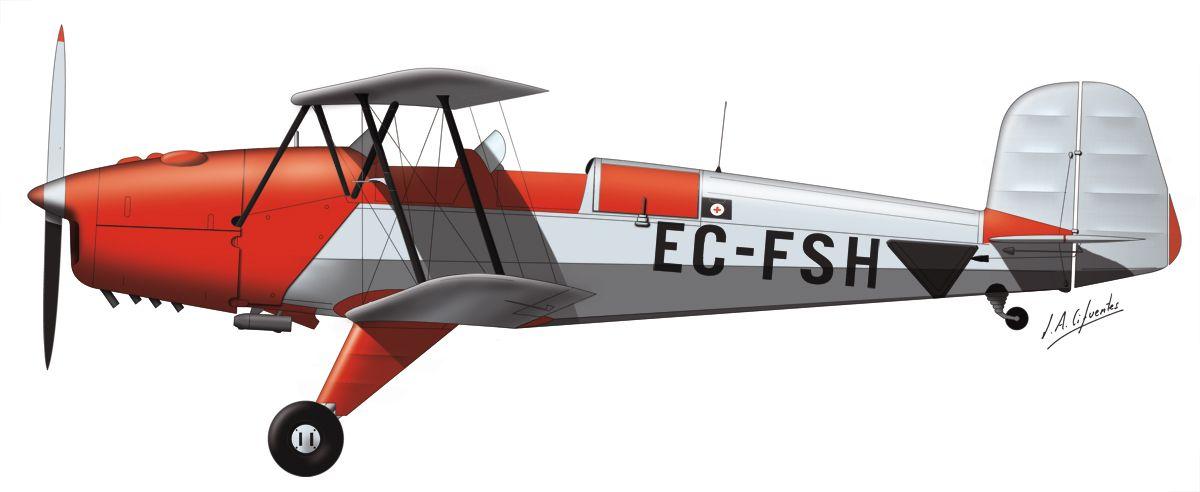Bücker – Real Aeroclub de Zaragoza – EC-FSH