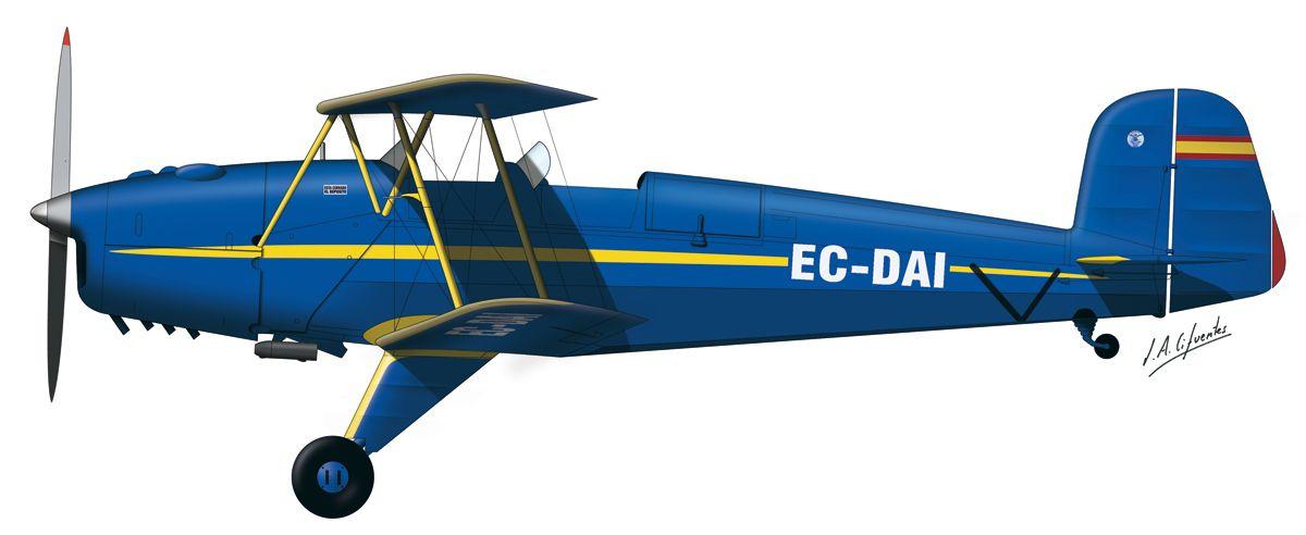 Bücker – Aeroclub Menorca  (antigua)