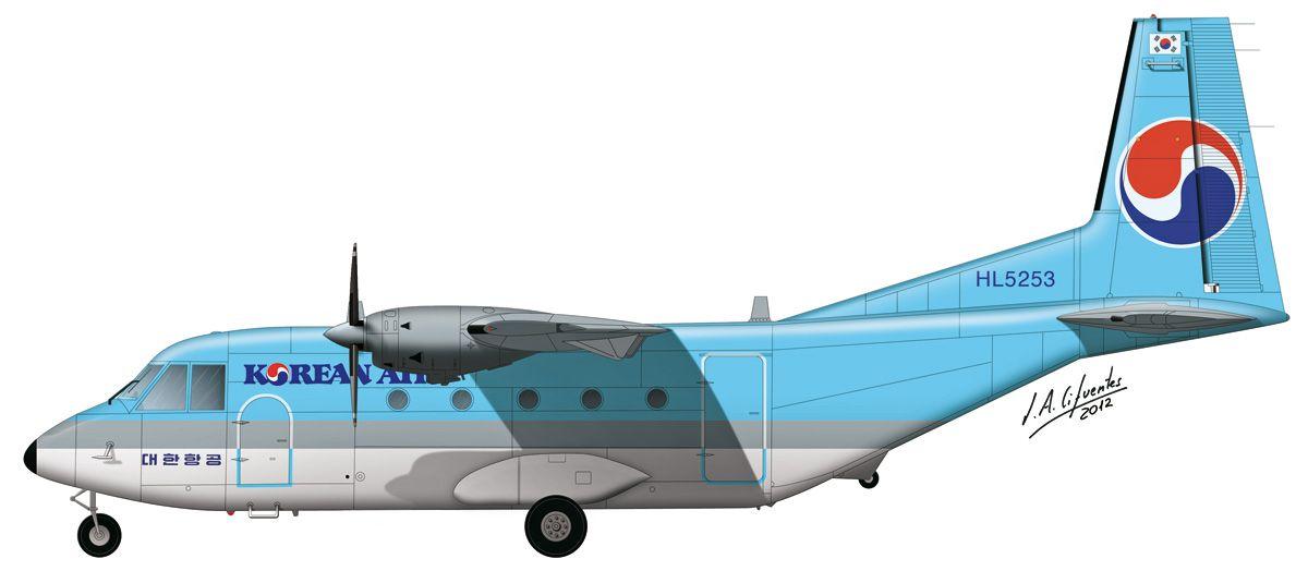 C-212 «Aviocar» – Korean Air
