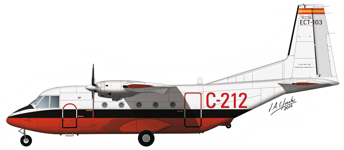 C-212 «Aviocar» – Prototipo