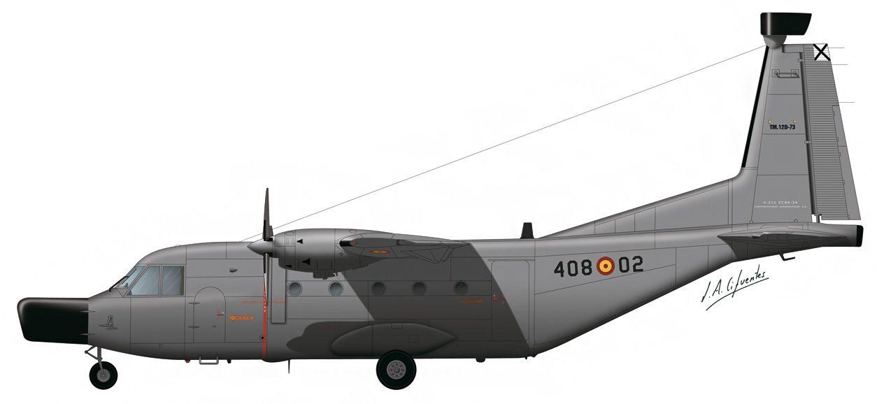 C-212 «Aviocar» – 408 Escuadrón