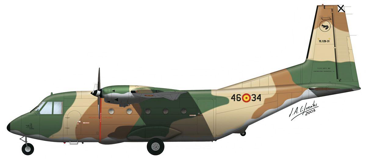 C-212 «Aviocar» – 461 Escuadrón