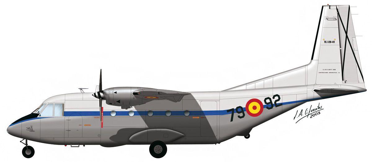 C-201 «Aviocar» – Escuela de Navegación