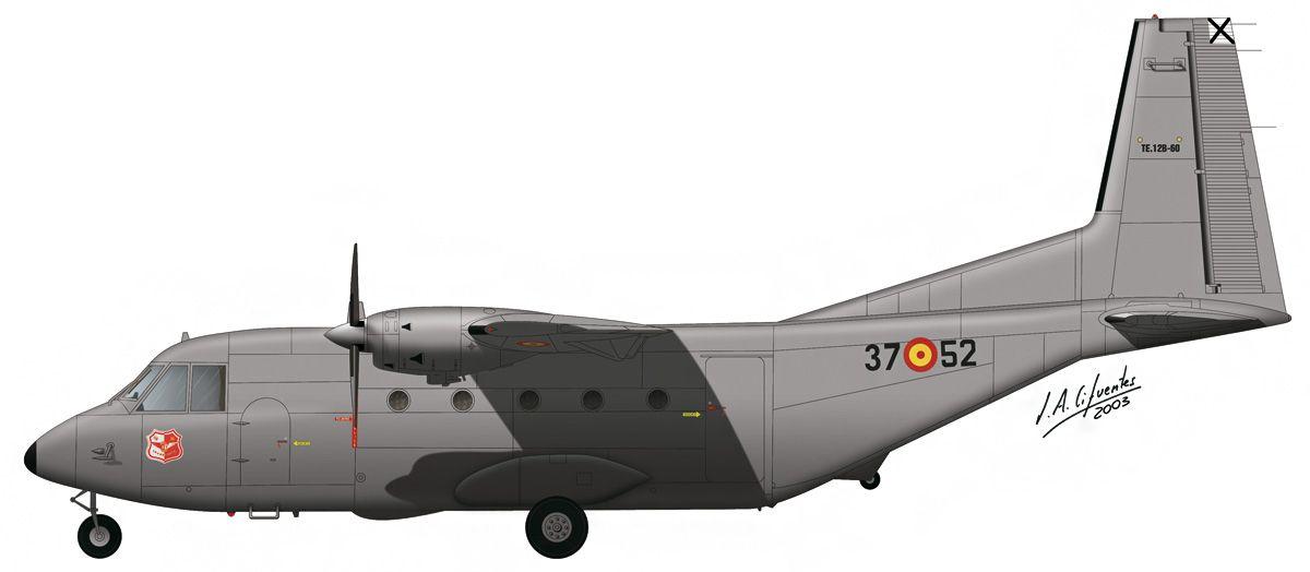 C-212 «Aviocar» – Ala 37