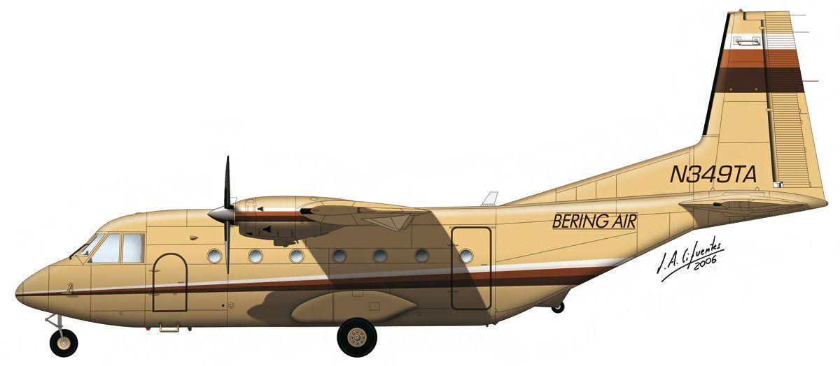 C-212 «Aviocar» – Bering Air