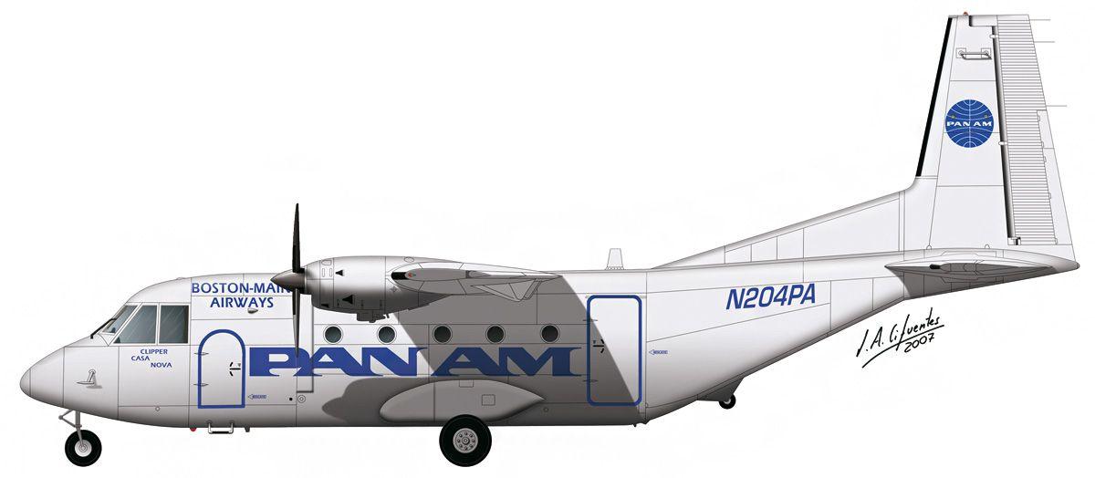 C-212 «Aviocar» – Boston-Main Airways