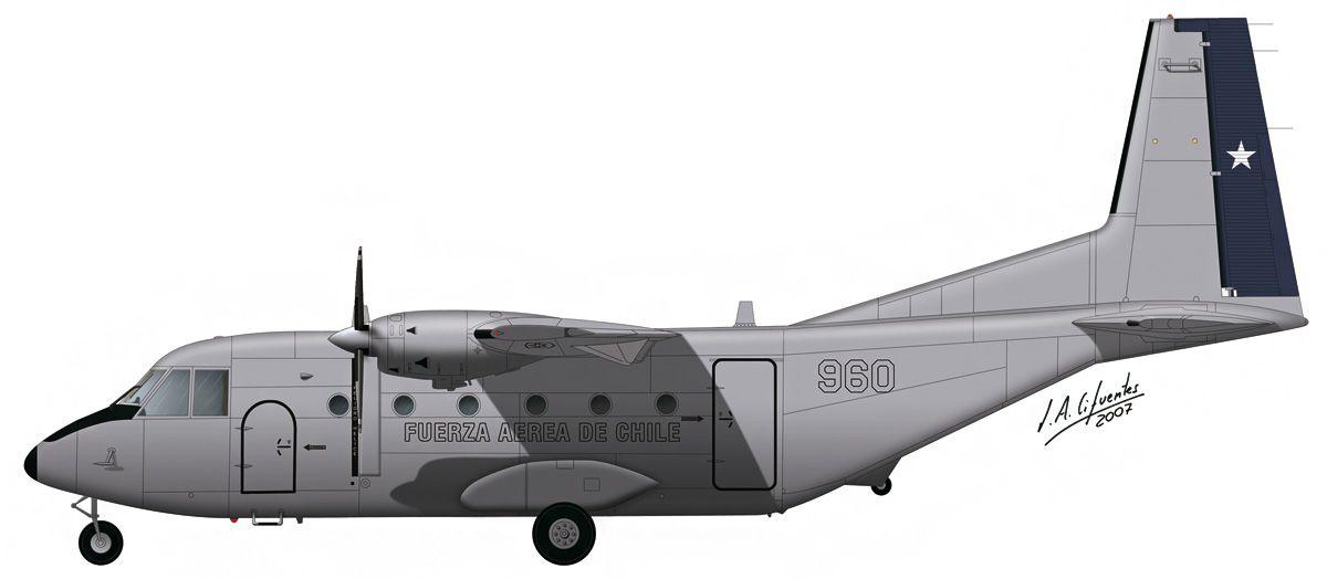 C-212 «Aviocar» – Fuerza Aérea de Chile