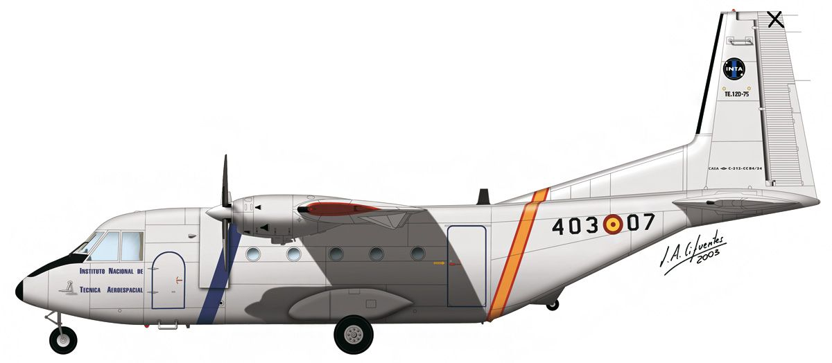 C-212 «Aviocar» – INTA