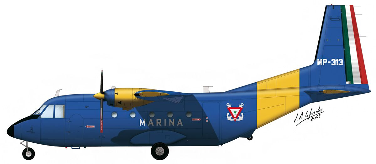 C-212 «Aviocar» – Marina de México