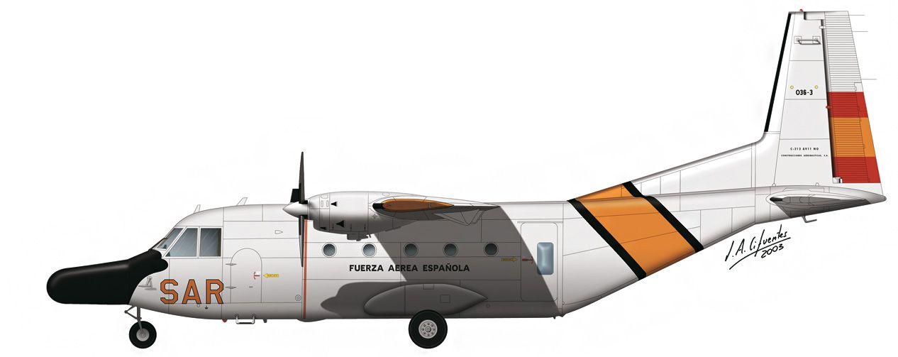C-212 «Aviocar» – SAR