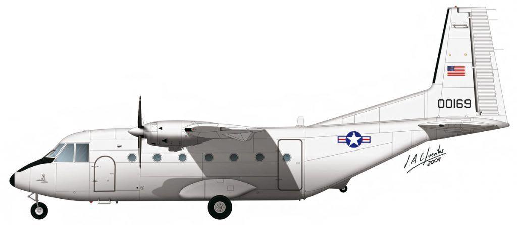 CASA C 212 USAF