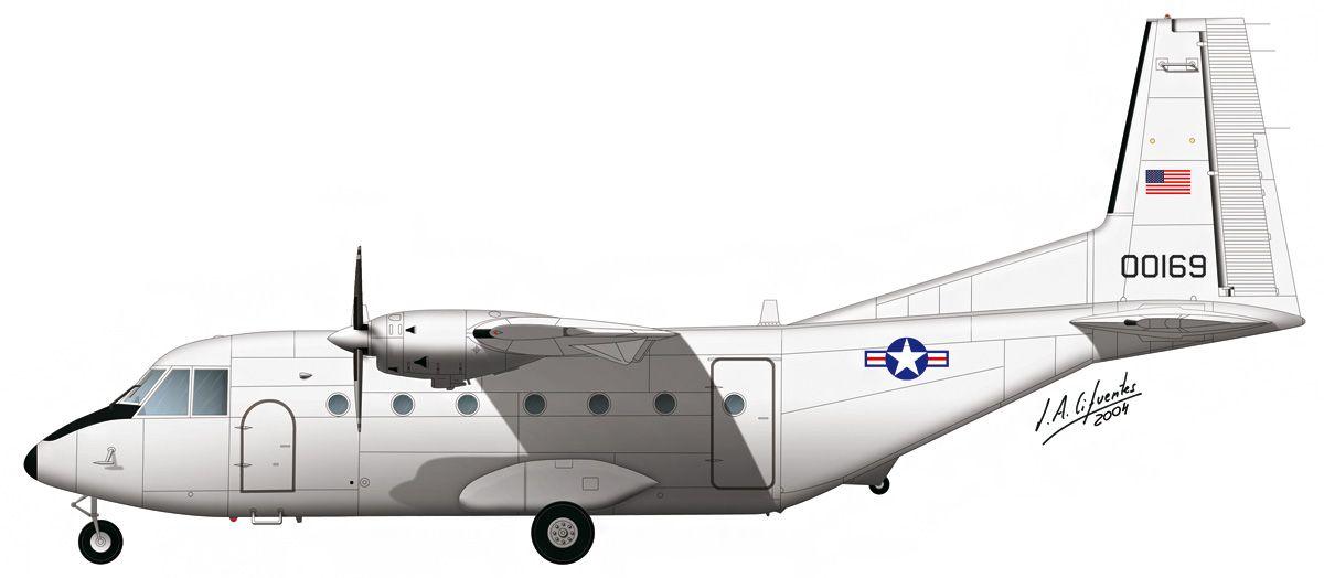 C-212 «Aviocar» – USAF