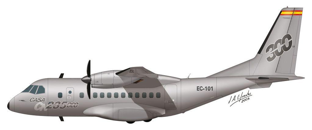 CN-235 / 300 – Prototipo
