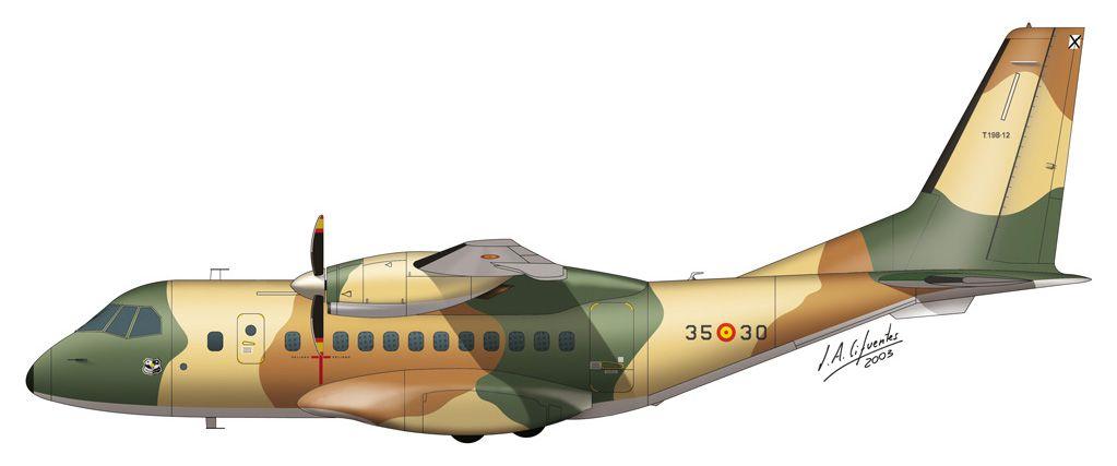 CN-235 – Ala 35 (lagarto)