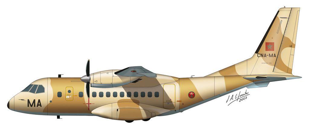 CN-235 – Fuerza Aérea de Marruecos