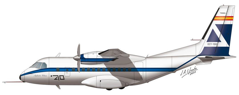 CN-235 – ECT-100