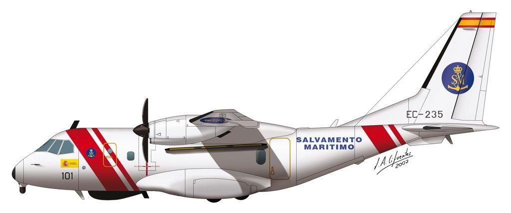CN-235 / 300 – Salvamento Marítimo.