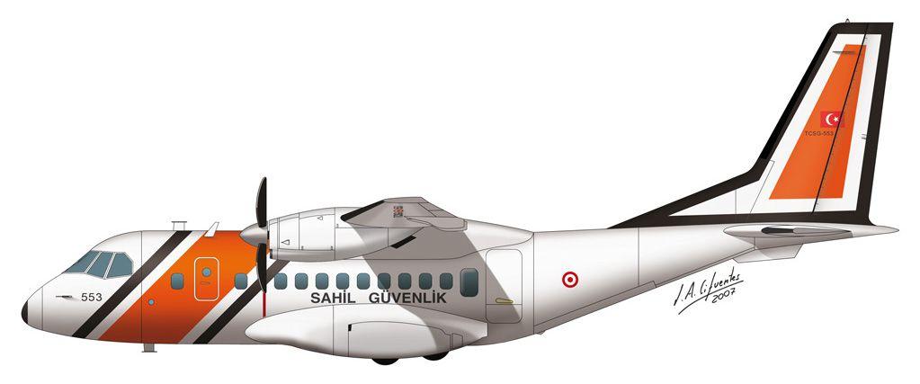 CN-235 – Guarda Costas de Turquía