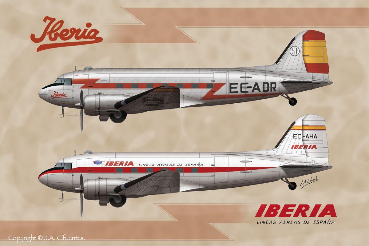 DC-3 Iberia