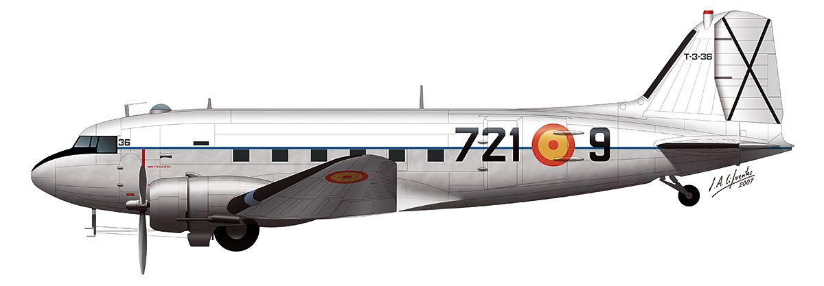 DC-3 – Ejercito del Aire