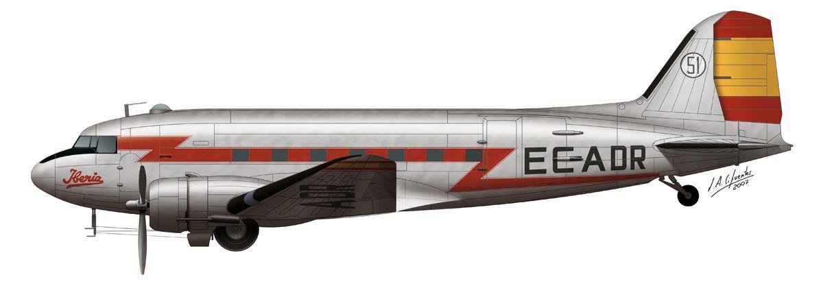 DC-3 – Iberia EC-ADR