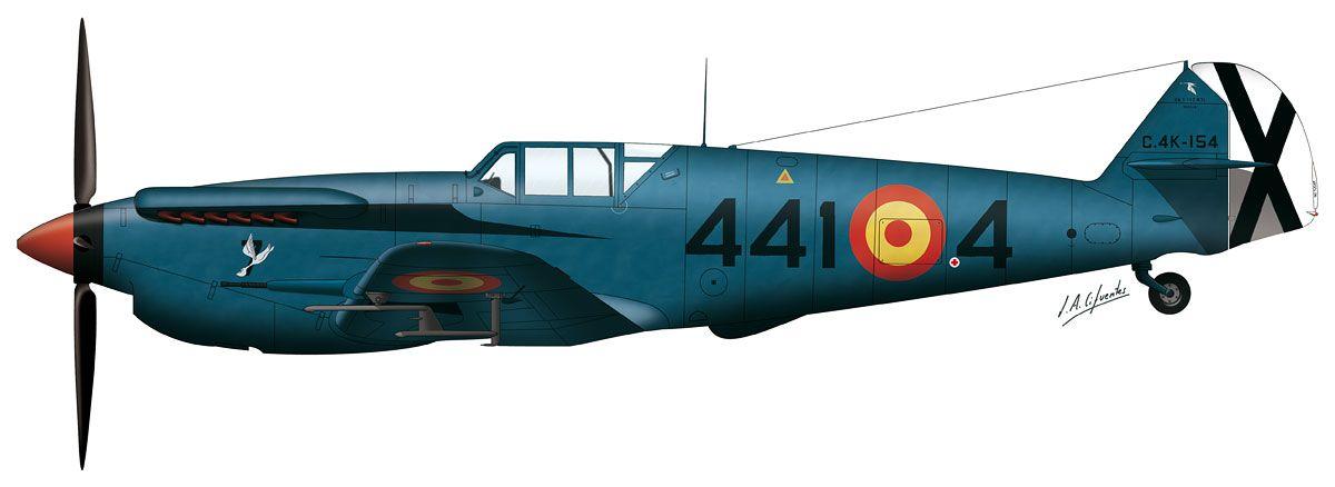Buchón del Ejército del Aire (azul)