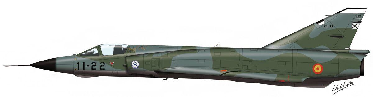 Mirage III – Ejército del Aire