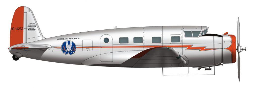Vultee American Airlines 2