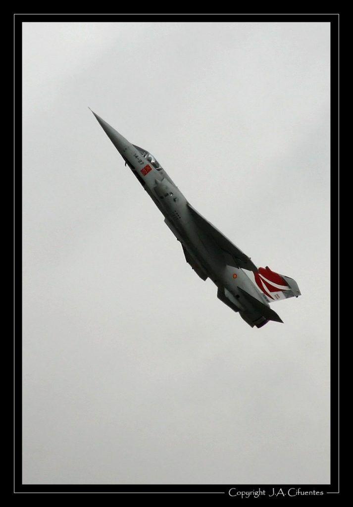 Mirage F-1E del Ala 14 del Ejercito del Aire.