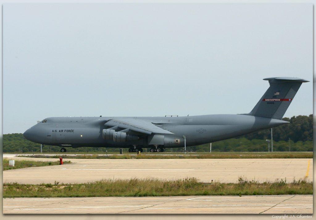 Lockheed C-5 Galaxy de la USAF.