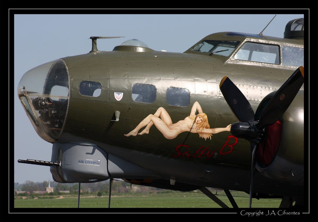 Boeing B-17G Flying Fortress.