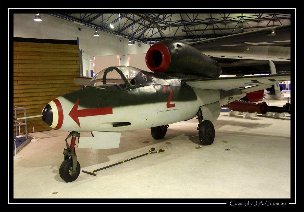 Heinkel He 162 A2 Salamander.