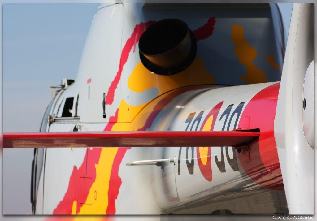 """Eurocopter EC 120B """"Colibrí"""" de la Patrulla ASPA."""