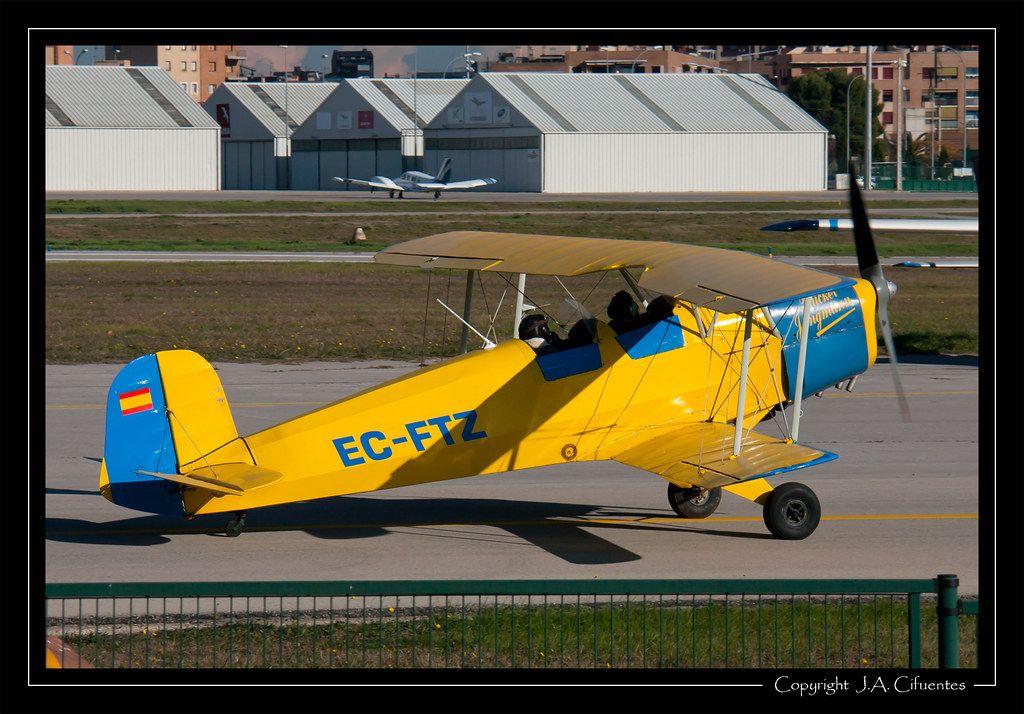 """CASA 1131 / Bücker 131 """"Jungmann"""" (EC-FTZ)."""