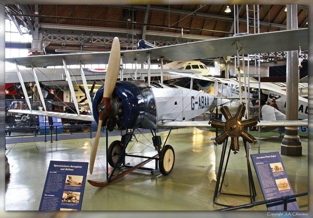 "Avro 504K ""G-ABAA""."