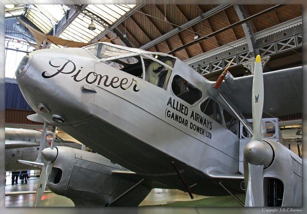 "de Havilland Dragon Rapide ""G-ADAH""."