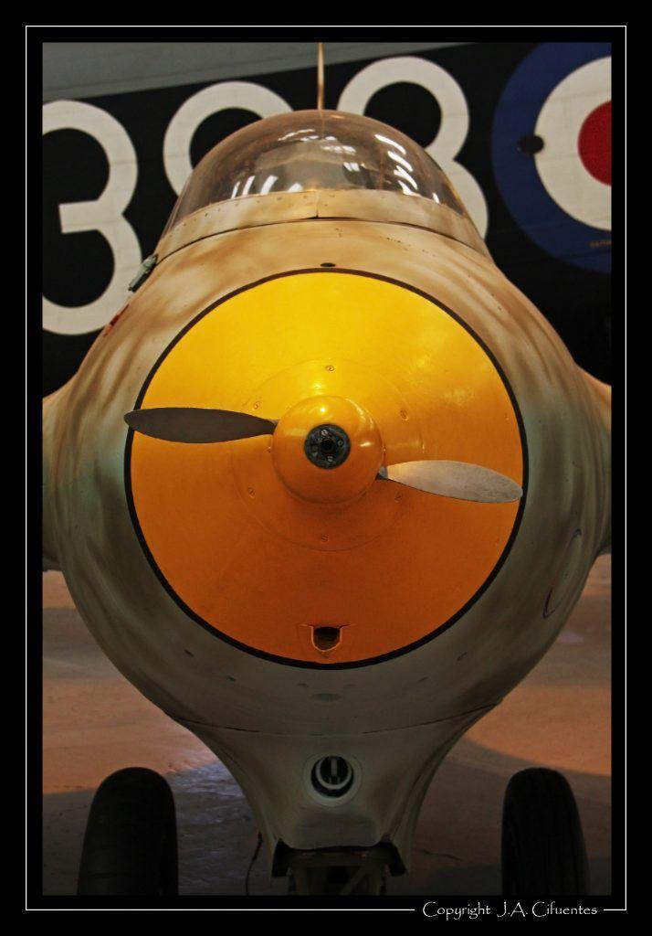 Messerschmitt Me 163B-1a Komet.