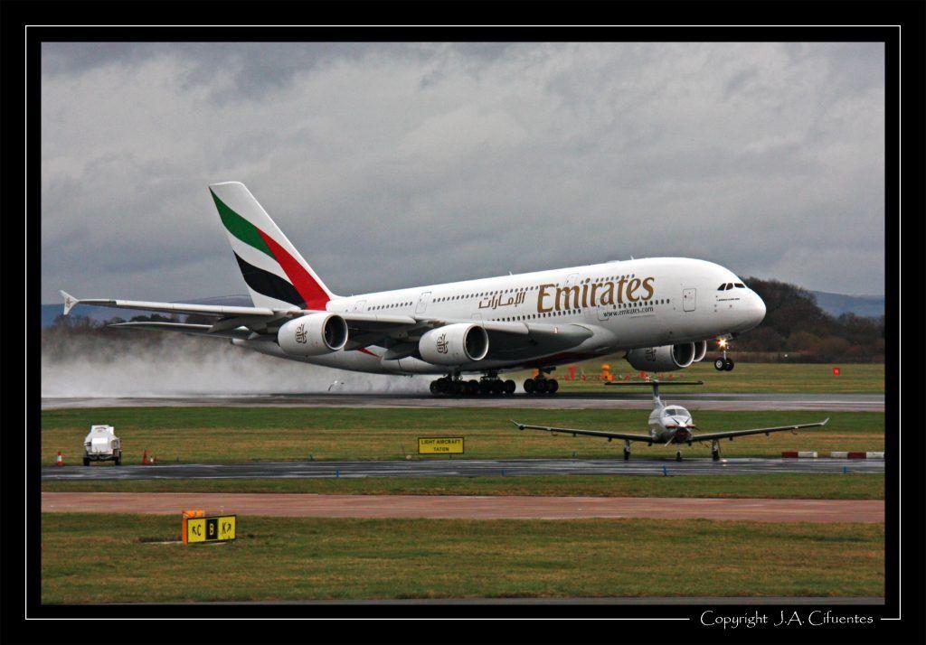 Airbus A380-861 (A6-EDM) de Emirates.