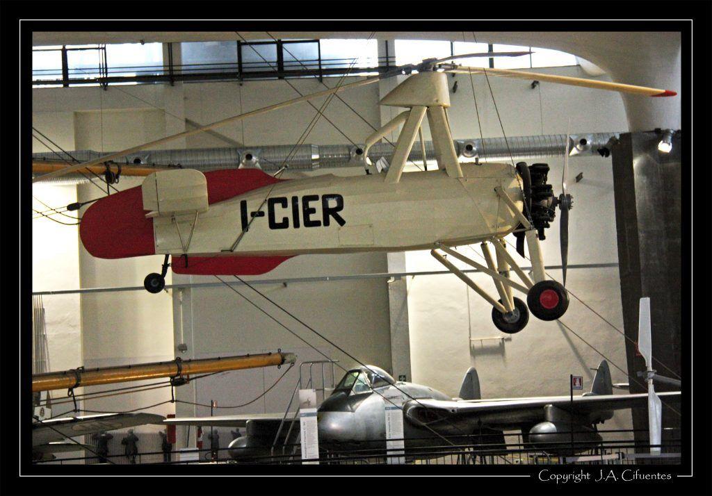 Autogiro Cierva C.30 (I-CIER).
