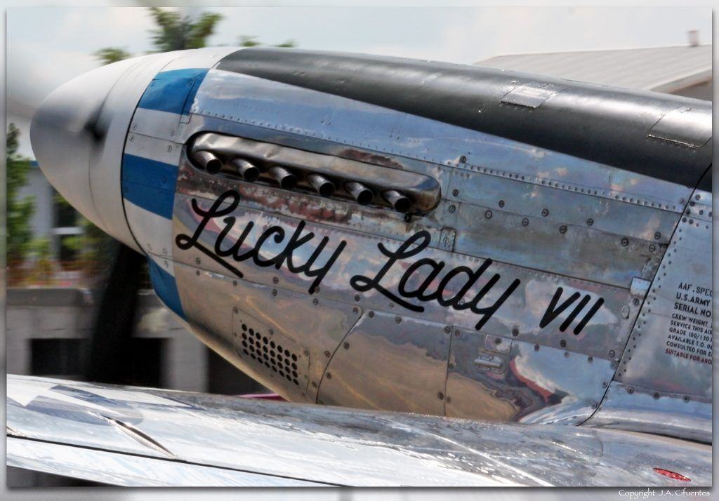 North American P-51 Mustang Lucky Lady VII (D-FPSI).