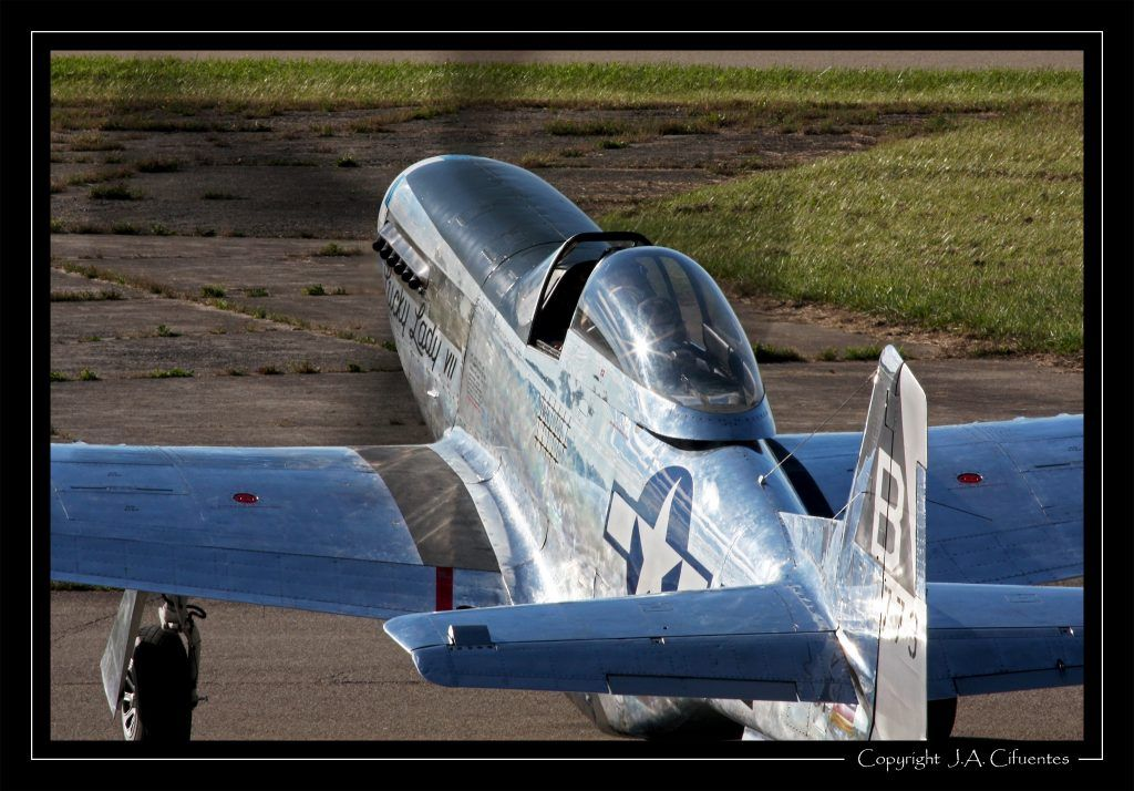 North American P-51 Mustang Lucky Lady VII D-FPSI.