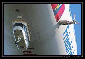 Deutsche Zeppelin Reederei Zeppelin LZ N07-100 Airship, D-LZZF.