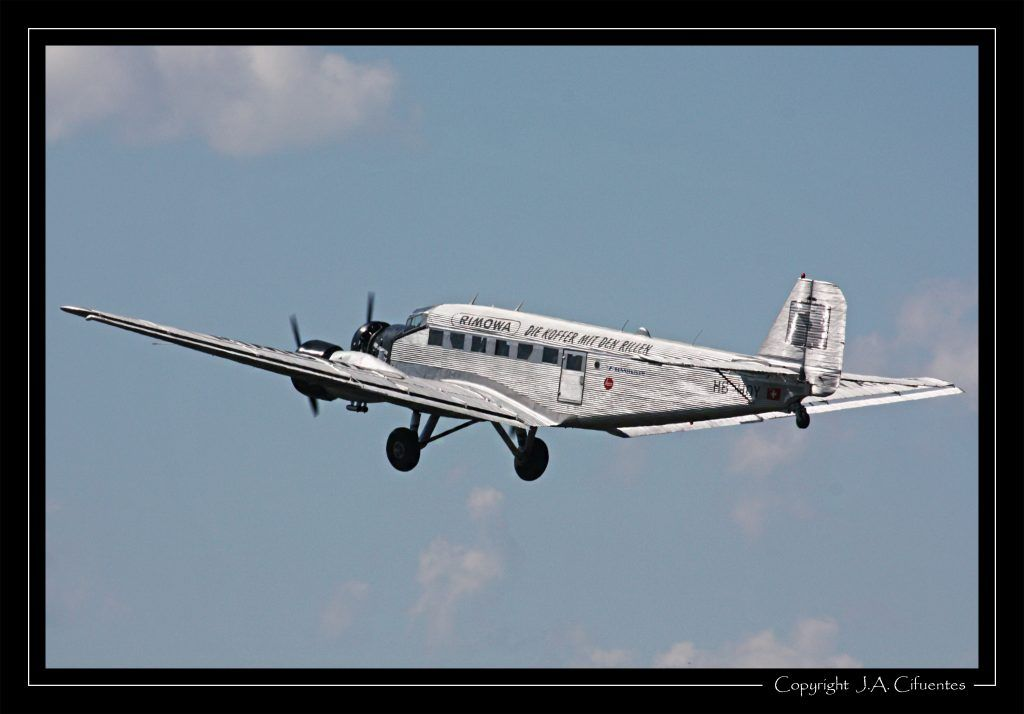 Ju-Air Junkers Ju-52/3m, HB-HOY.
